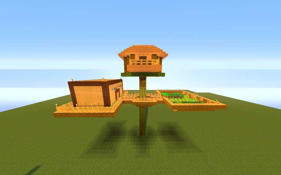 Casa del arbol minecraft minecraft descargas for Como hacer una casa moderna y grande en minecraft 1 5 2
