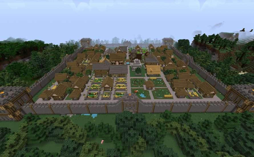 Top 5 - Edificios Minecraft (Febrero 2015)