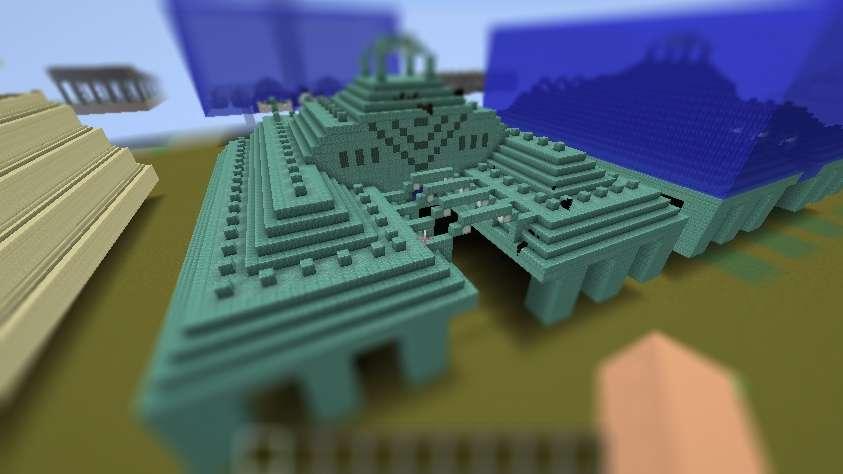 Fortaleza Azteca Minecraft