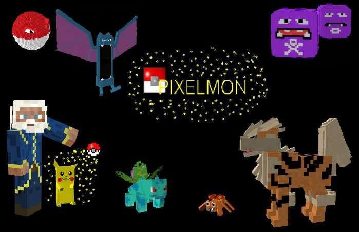 Pixelmon #MinecraftMod 1.8/1.7.10