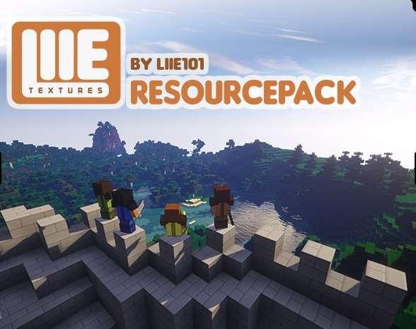 LIIE #MinecraftTexture 1.8.2