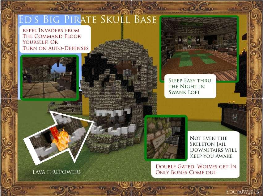 Base pirata Minecraft