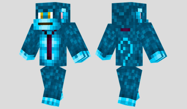 Blue Monkey #MinecraftSkin