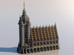 Iglesia Gótica Minecraft