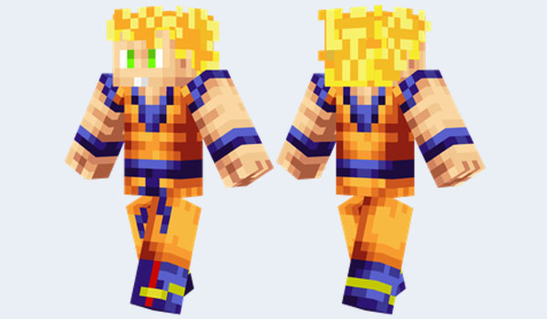 Son Goku #MinecraftSkin