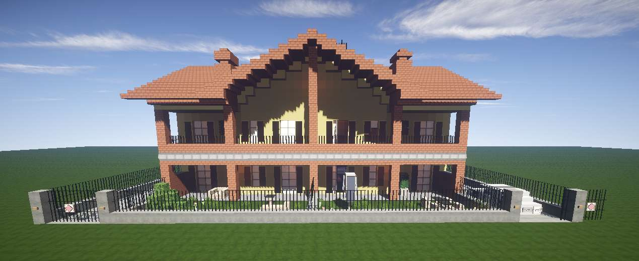 Casa italiana minecraft minecraft descargas for Casa moderna 1 8
