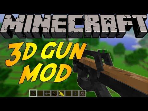 Stefinus 3D Guns Mod para Minecraft 1.7.10