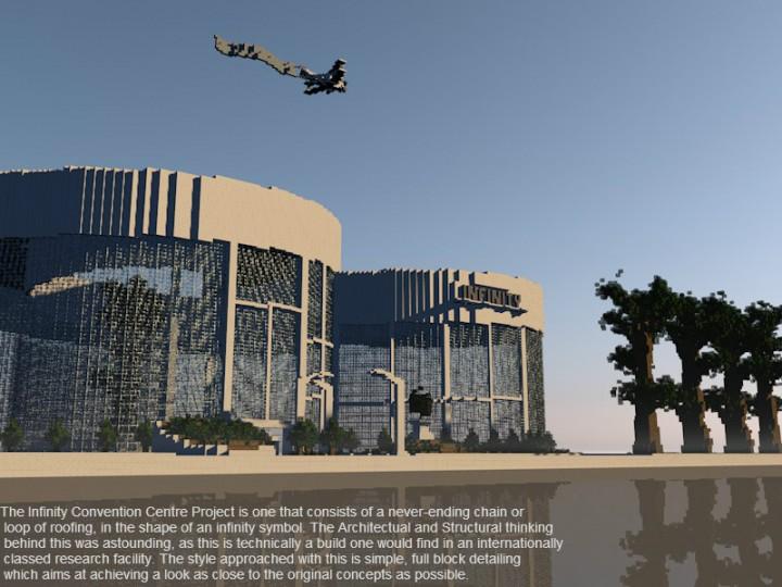 Centro de convenciones Minecraft