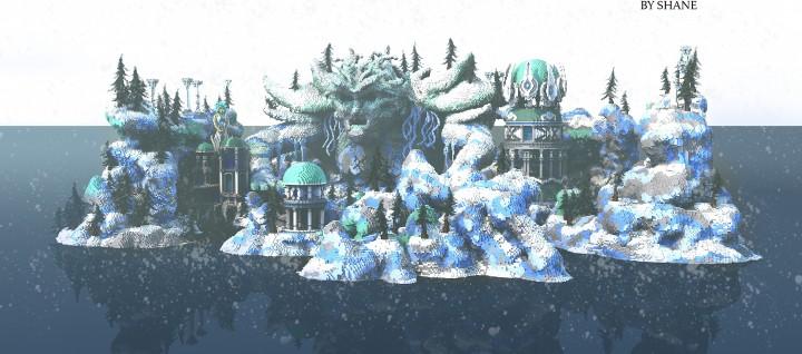 Frostbite - La ciudad encantada de Minecraft