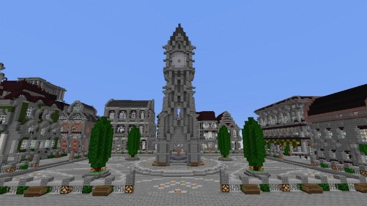 Torre del Reloj Minecraft