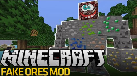 Fake Ores Mod 2 para Minecraft 1.8