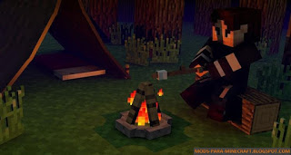 The Camping Mod para Minecraft 1.7.2 / 01.07.10 / 1.8