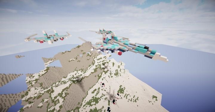 Descargar Aviones de Guerra Japoneses Minecraft