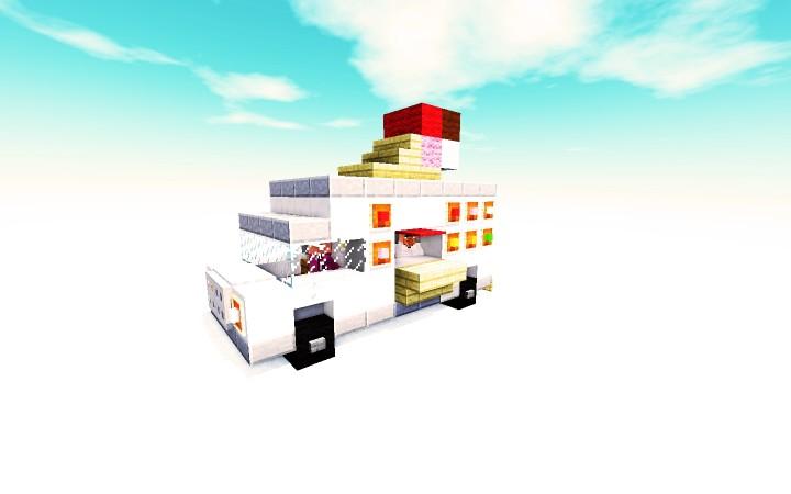 Descargar Camion Helados Minecraft