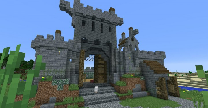 Descargar Castillo Minecraft
