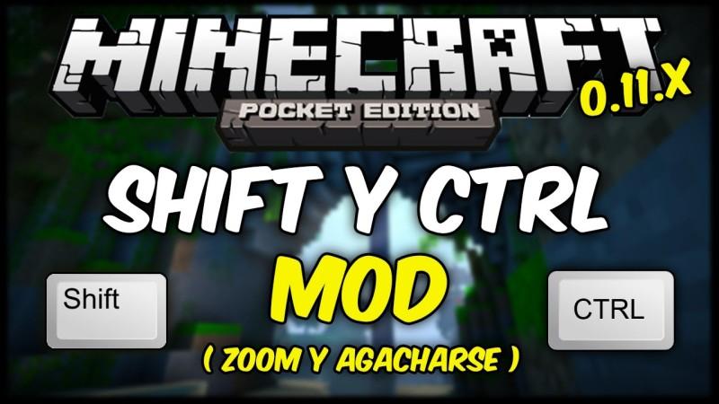 Shift Y Ctrl Mod MCPE