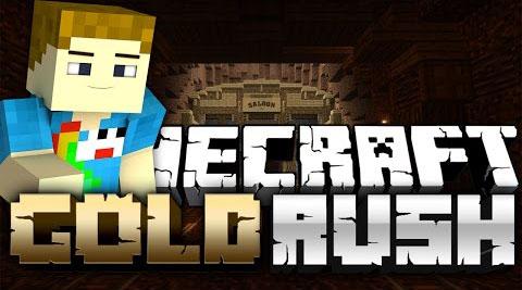 Mapa Gold Rush Minecraft 1.8.8/1.8