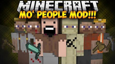 Mod Mo' People Minecraft 1.8/1.7.10/1.7.2/1.5.2