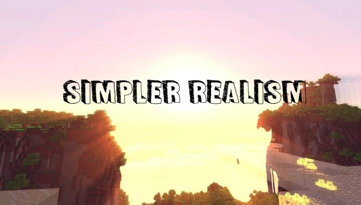 Simpler Realism Pack Texturas para Minecraft 1.8.8/1.8/1.7.10