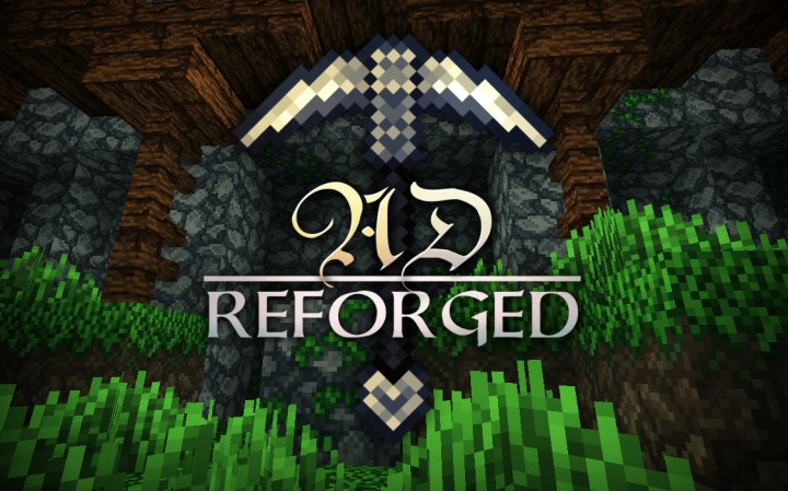 AD Reforged Texture Pack Minecraft